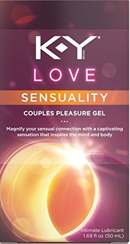 K-Y Love Couples Lubricant, 1.69 oz., Sensuality (Pack of 2)
