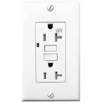 41QhPQRxVsL._SL500_AC_SS350_ topele 20amp gfci outlet, 125 volt weather resistant receptacle Leviton 20 Amp GFCI at fashall.co