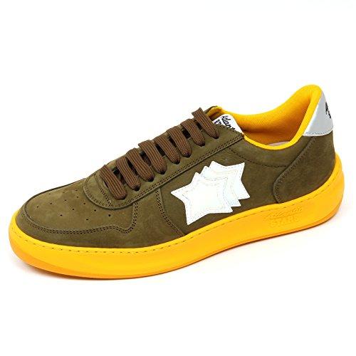 Atlantic Stars D0896 Sneaker Uomo Rigel PCSA TE55 Scarpa Verde Shoe Man Verde