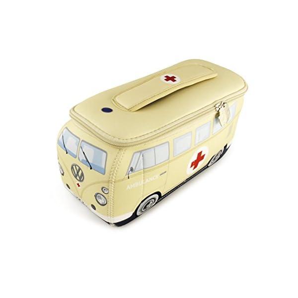 41QhPmLYieL Brisa VW Collection - Volkswagen T1 Bulli Bus Universal-Schmink-Kosmetik-Kultur-Reise-Hausrats-Tasche-Mäppchen-Beutel
