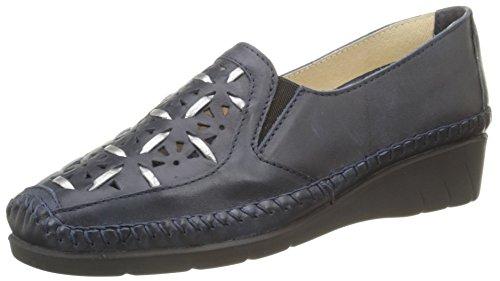 Emfort Bleu Loafers Women's Luxat Jeans Bleu Tqw0wd