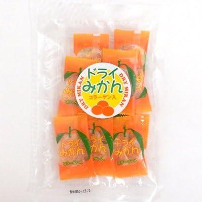 ドライフルーツ ドライみかん ピロ個装 50g×6袋 コラーゲン入り 【タクマ食品】