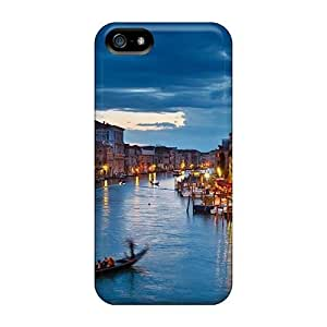 Durable Venice Italy Travel Urban Back Case/cover For Iphone 5/5s