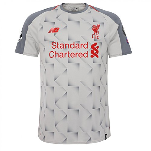 Liverpool Men's 2018/2019 3rd Soccer Jersey (X-Large) Grey ()