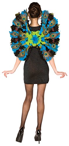 BUYSEASONS Peacock Wings - One-Size -
