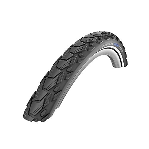 Schwalbe Marathon Cross HS 470 SpeedGrip Cross/Hybrid Bicycle Tire - Wire Bead (Black-Reflex - 27.5 x 1.65) - Schwalbe Marathon Cross