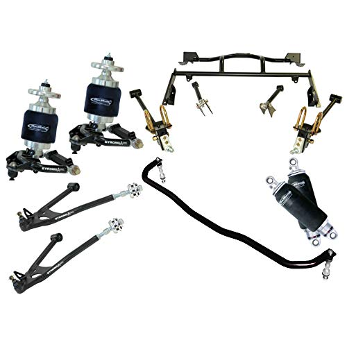 NEW RIDETECH AIR SUSPENSION SYSTEM,HQ SERIES SHOCKWAVES,TRUTURN STEERING,SPINDLES,FRONT MUSCLEBAR,STRONGARMS,BOLT-ON 4-LINK,COMPATIBLE WITH 1967-1970 MERCURY COUGAR