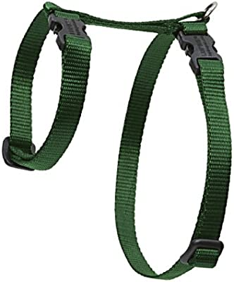 Lupine H-Style Pet Harness, 1/2-inch/12-20 cm, S, Green: Amazon.co