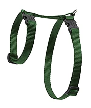Lupine H-Style Pet Harness, 1/2-inch/ 9 - 14 cm, S, Green: Amazon.co