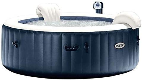 Intex SPA PURESPA Plus - Juego de 4 plazas, Redonda, 196 LED ...