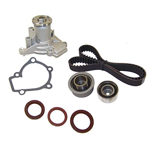 DNJ TBK124AWP Timing Belt Kit with Water Pump for 1997-2006 / Hyundai, Kia / Elantra, Spectra, Spectra5, Sportage, Tiburon, Tucson / 2.0L / DOHC / L4 / 16V / 1975cc, 1997cc