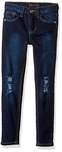 Kensie girls Denim Jean (More Styles Available), 1694 Dark Blue Denim, 12 -