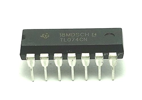Slew Op Amp Rate (Texas Instruments TL074CN IC Operational Amplifier (Pack of 6))