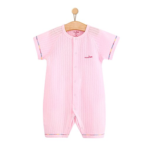 Unisex Baby Clothes Boy Girl Bodysuit Summer Toddler Infant Clothing (3-6 Months, pink)