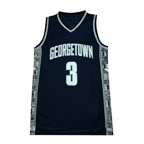 Mens Iverson Jerseys 3 The University Basketball Jersey (S)
