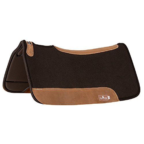 Classic Equine ContourPedic Western Pad, Black, 31 for sale  Delivered anywhere in USA