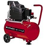 Einhell TC-AC 190/24/8 Compressore, 1500 W, 230 V, Rosso 41QhUfqltJL. SS150