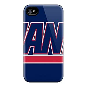 Iphone 4/4s Eoa12414FYsJ Allow Personal Design Attractive New York Giants Skin Great Cell-phone Hard Covers -AlissaDubois