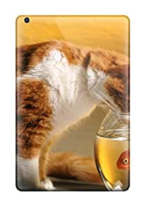 High Quality AnnDavidson Cat Wallpaper Skin Case Cover Specially Designed For Ipad - Mini/mini 2 by supermalls