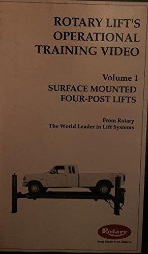 Rotary Lift's Operational Training Video: Surface Mounted Four-Post Lifts Volume 1