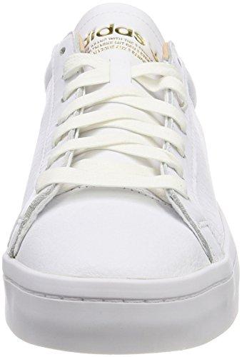 Adidas Scarpe Uomo Corte Di Vista Bianco Fitness (ftwbla / Ftwbla / Supcol 000)