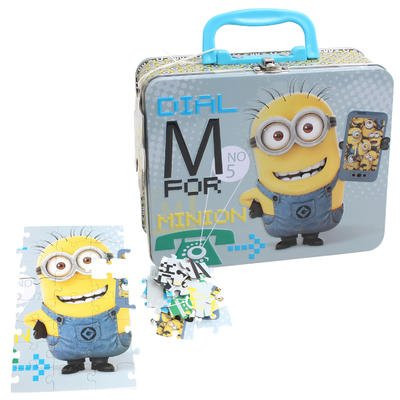 Wholesale Minions Puzzle in Tin Lunch Box