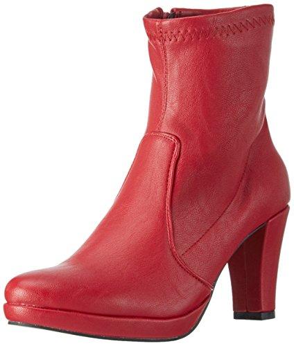 Andrea Conti 1122790, Zapatillas de Estar por Casa para Mujer Rojo - Rot (Rot 021)