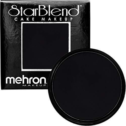 Stick Blend Black Cream - Mehron Makeup StarBlend Cake (2 oz) (Black)