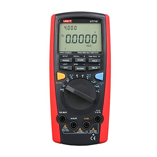 UNI-T UT71E Large Screen LCD Digital Multimeter 39999 Counts AC/DC Voltage/Current Resistance Capacitance Tester Topker