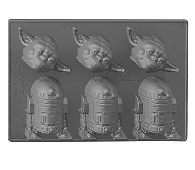 Underground Toys Yoda & R2 Star Wars Home Kitchen Ice Cube Tray
