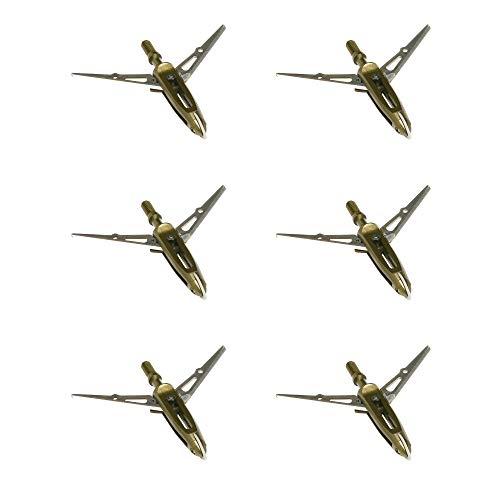 NAP Killzone Maxx Mechanical Bow Hunting Broadheads, 100 Grain, Two Blade, 2-3/8