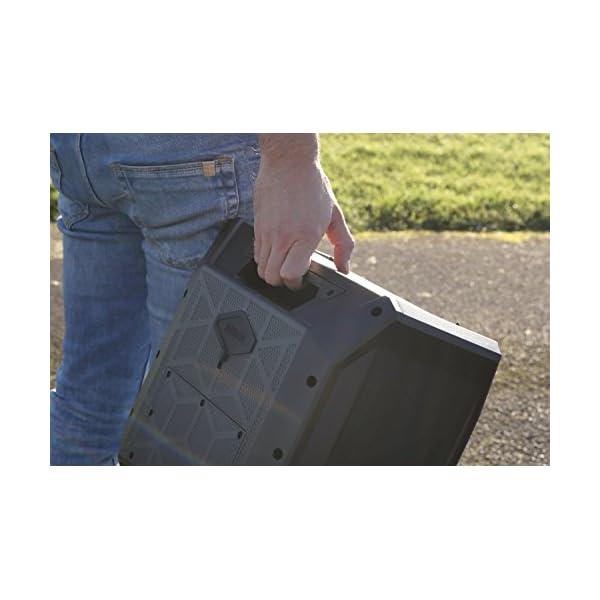 ION Audio Sport - Enceinte 50 W Résistant à l'Eau, avec Batterie Rechargeable Longue Durée, Étanchéité IPX4, Bluetooth, Port USB de Charge, Entrée Aux et Microphone Haute-Définition 6