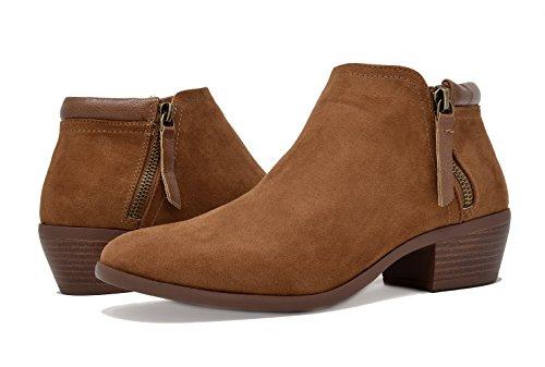 Buy tan tall fur boots