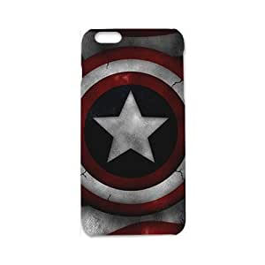 Custom Captain America Shield Desgin High Quality Case Cover Fashion Style for 3d iPhone 6/6s