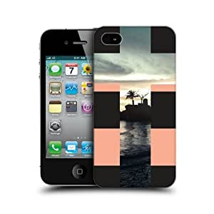 Sea Within Cross Collection Hard Back Case Cover For Apple iPhone 4 4S
