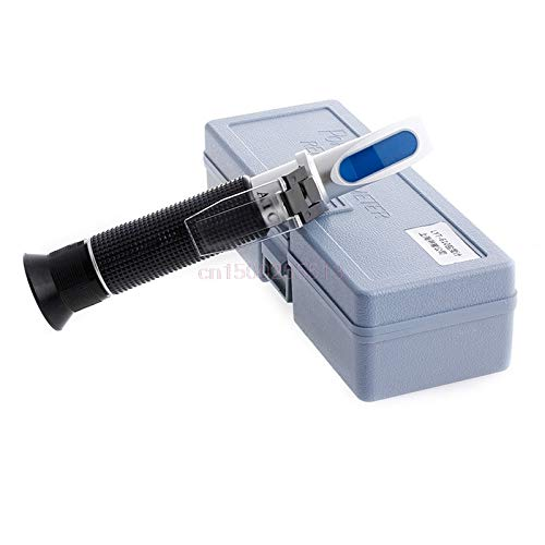JIAIIO Salinity Refractometer Meter Water Reader Marine 0~10% Salt Aquarium Test Tester