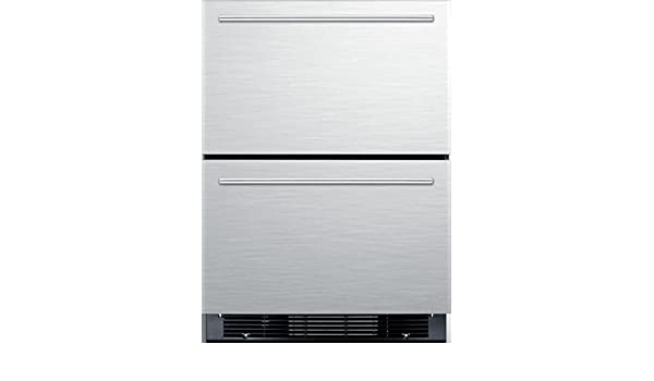 Two-Drawer Refrigerator-Freezer For Built-In Or Freestanding Use SPRF2D5