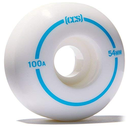 CCS Skateboard Wheels - Multiple Colors (White, 52mm) by CCS