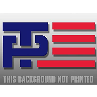 American Vinyl Official Trump Pence Logo ONLY Window Decal Sticker (no gackground - Easy Apply): Automotive