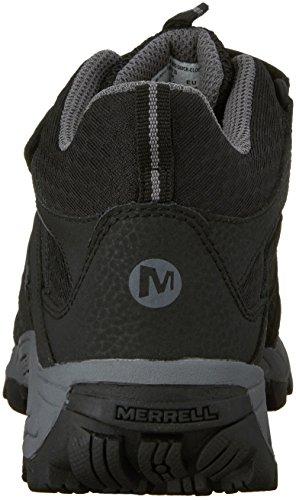 Merrell ml-b Hilltop Mid Quick-Clos, Botas de Senderismo para Niños Negro (Black)