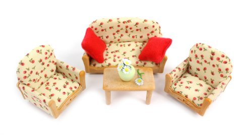 Calico Critters Living Room Suite