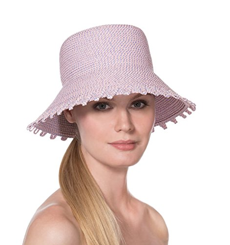 Eric Javits Luxury Fashion Designer Women's Headwear Hat - Eloise - Opal by Eric Javits