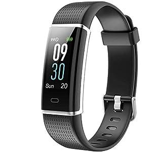 Willful Montre Connectée Femmes Homme Bracelet Connecté Cardiofréquencemètre Etanche IP68 Smartwatch Android iOS Montre…