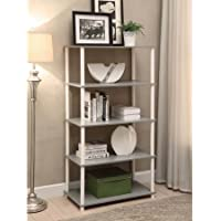 Mainstays No Tools Assembly 8-Cube Shelving Storage Unit, Multiple Colors (Gray)