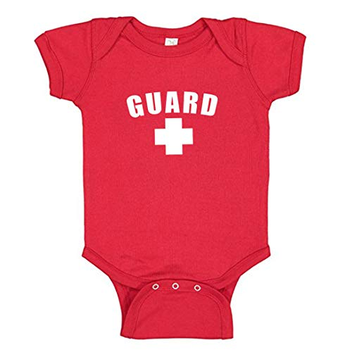 Red Guard Baby Onesie from Newborn to 24 Month Boy or Girl - Southern Apparel Great as A Life (12 Month)