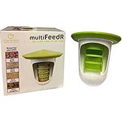 Unipet Singing Friend MultiFEEDR (One Size) (Green/White)