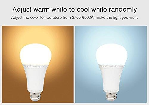 Mi Light 12W RGBWW Smart 2 4GHz RF WiFi Led Light Bulb