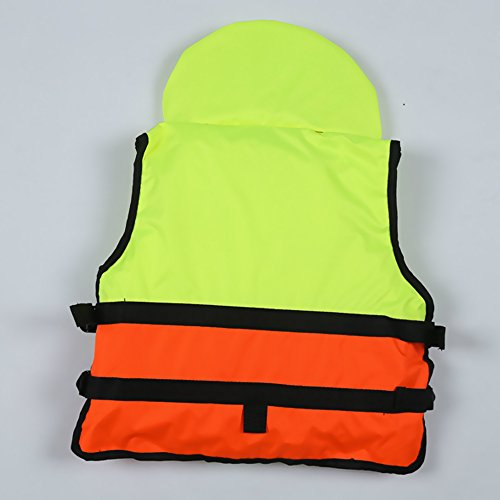 Portable Life Vest : Meanhoo professional life jacket for adult bubble