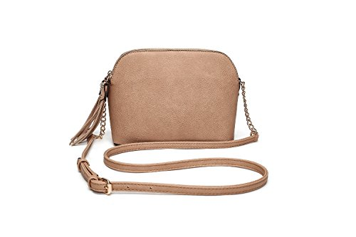 Crossbody Bags for Women | MKF Collection Purses and Handbags | Cross Body Pocketbook Satchel (Apricot)