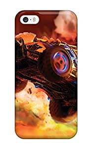 Durable Defender Case For Iphone 5/5s Tpu Cover(games)